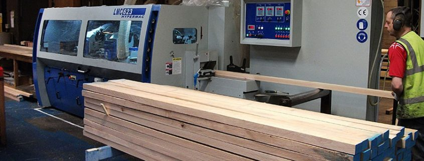 State of the art timber moulding manufacture