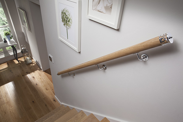 Mopstick Timber Handrail 54mm X 50mm Dresser Mouldings